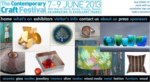 Contemporary Craft Festival 2013