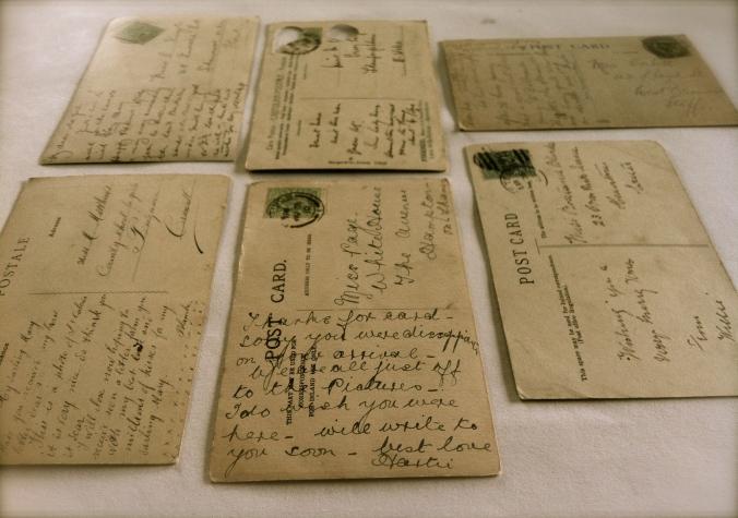 Personal Project - vintage postcards