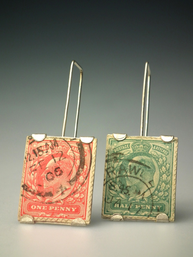 Stamp Earrings